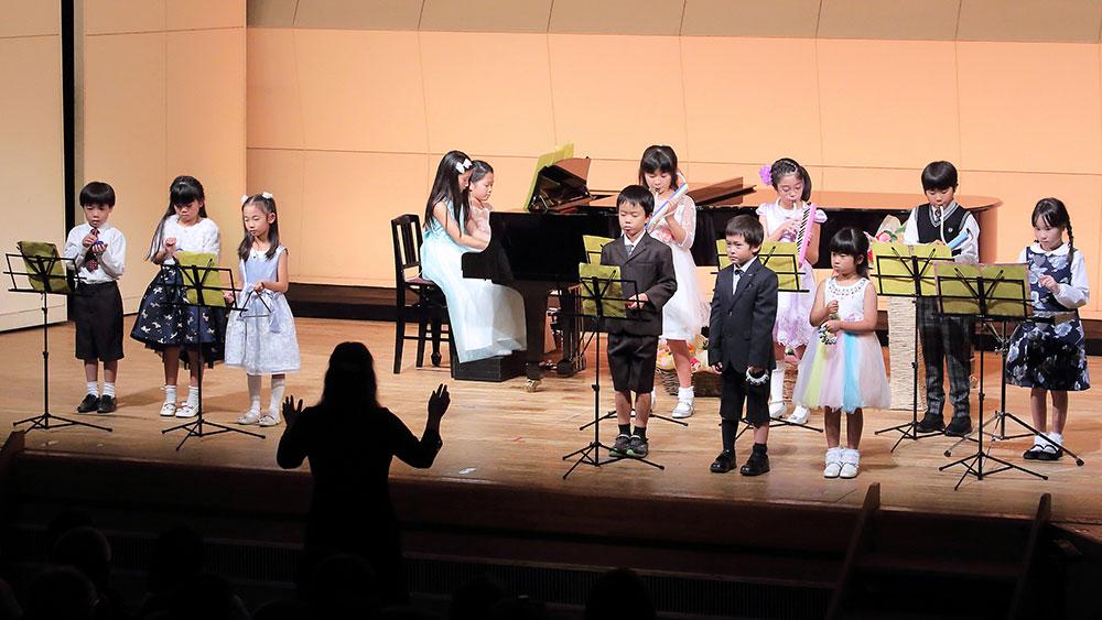 清田ピアノ教室発表会(2018年)合奏