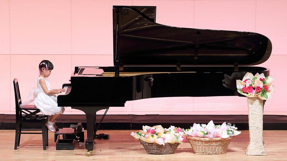 清田ピアノ教室発表会(2018年)ソロ演奏