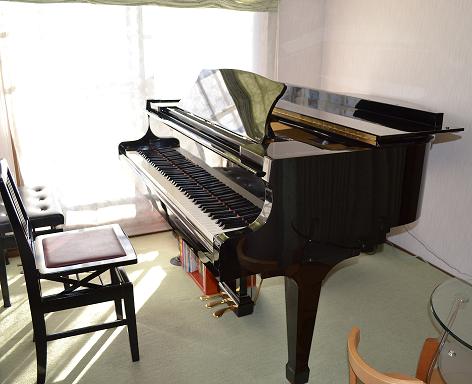 清田ピアノ教室 レッスン室